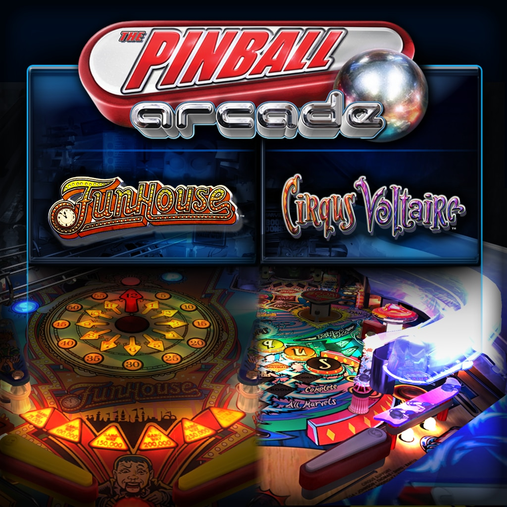 Table Pack 2: Cirqus Voltaire and Funhouse (英文版)