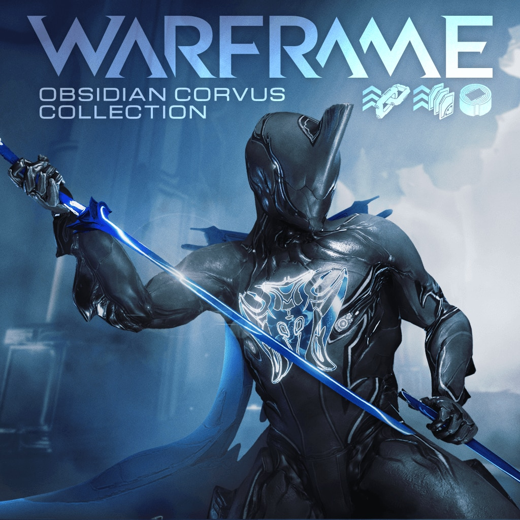 Warframe®: PS4™ Obsidian Corvus Collection (English/Chinese/Korean/Japanese Ver.)