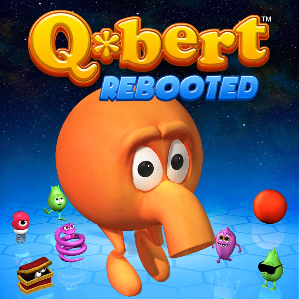 Q*Bert: Rebooted/Pixels Game and Theme Bundle (English Ver.)