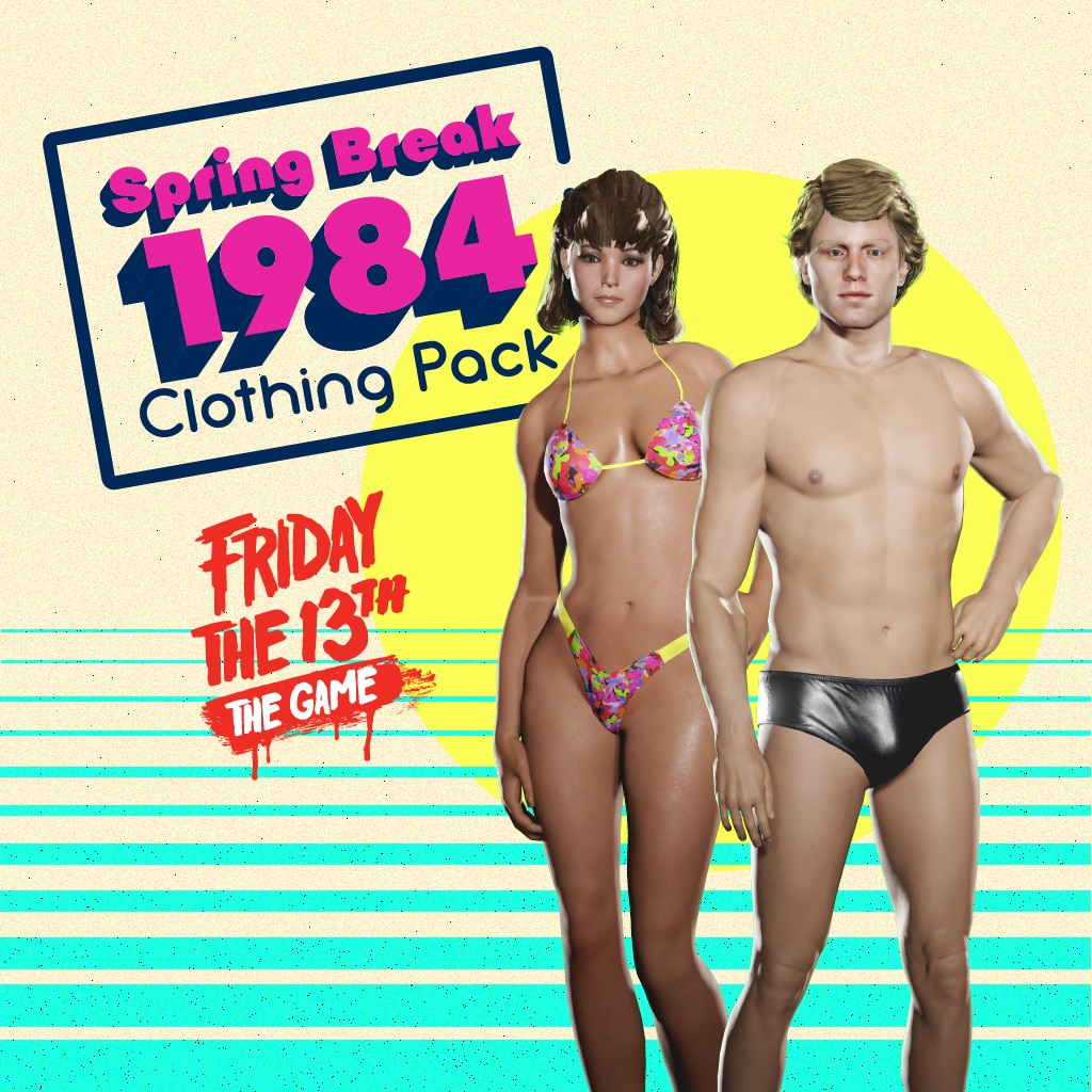 Spring Break '84 Clothing Pack