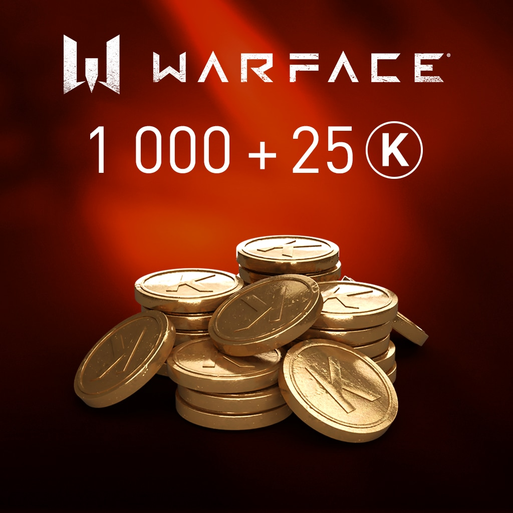 Warface: 1000 Kredits