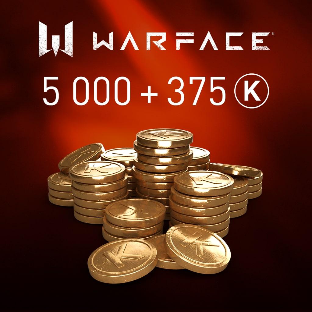 Warface: 5000 Kredits