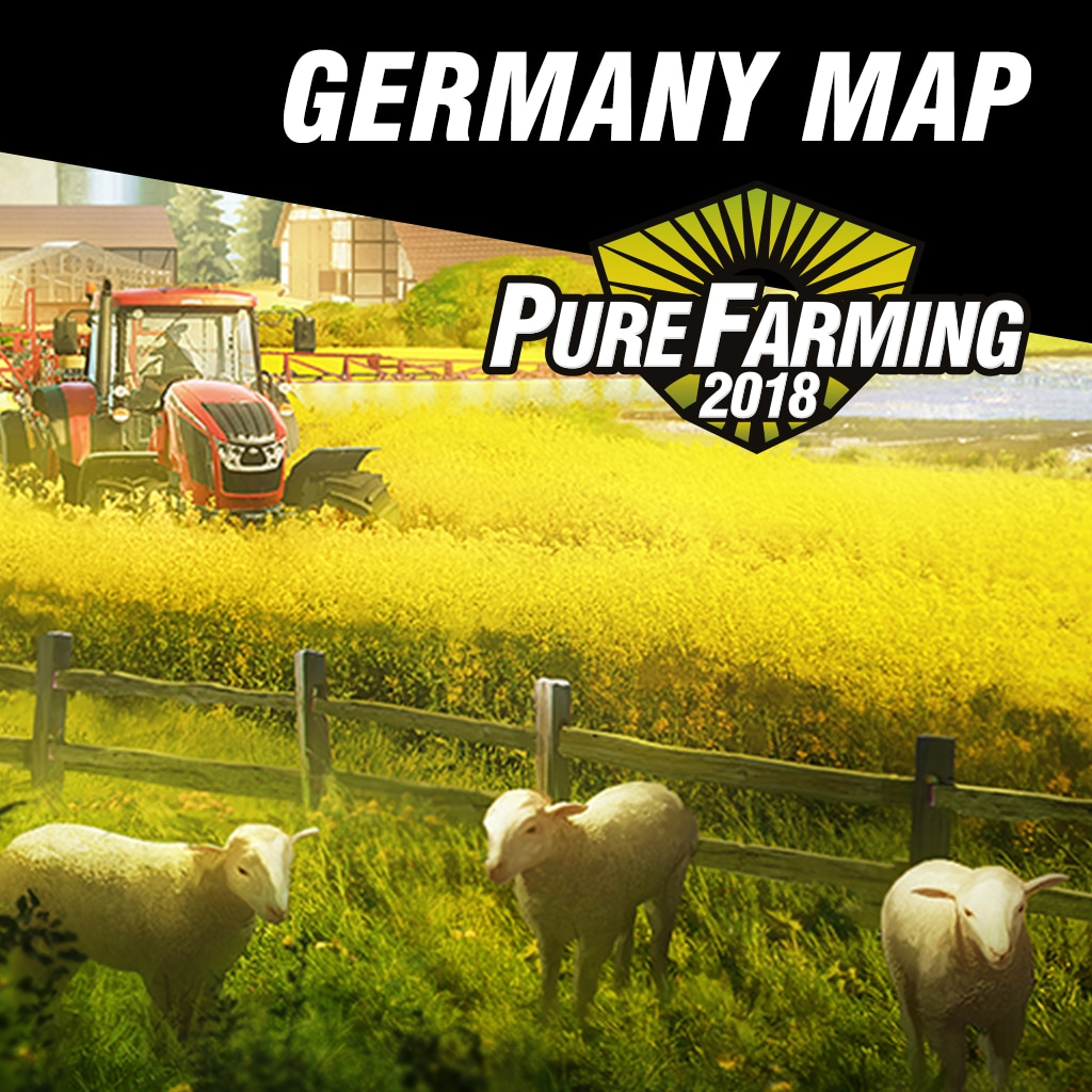 Pure Farming 2018 - Germany Map