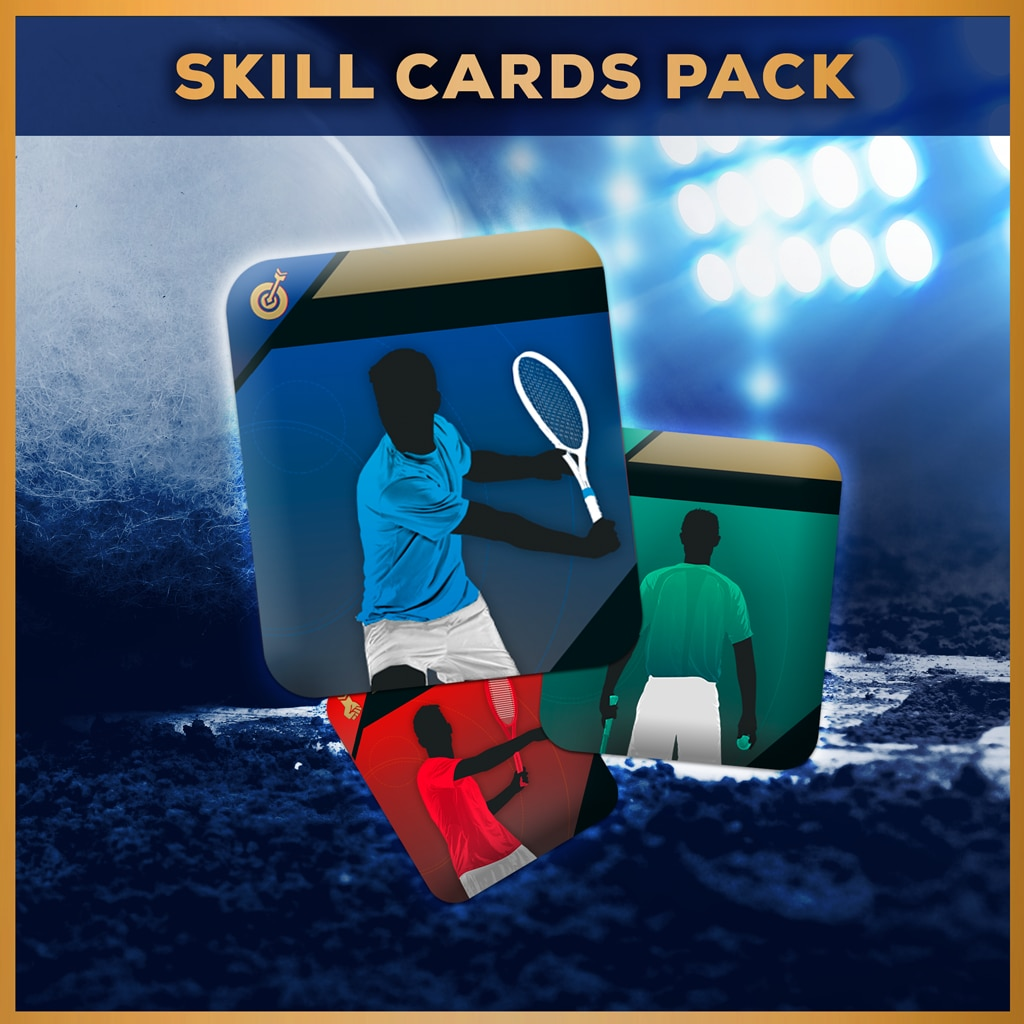Tennis World Tour - Skill Cards Pack