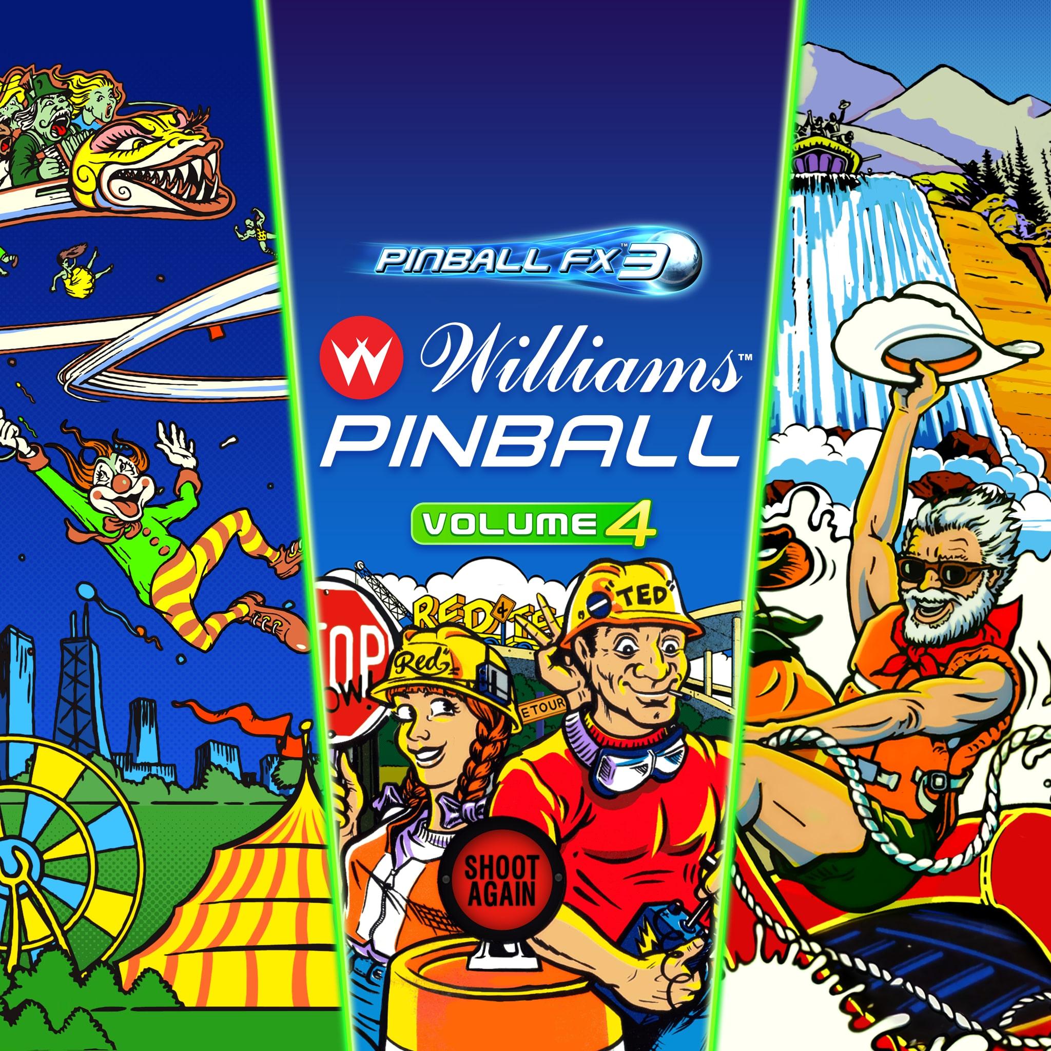Pinball FX3 -Williams™ Pinball: Volume 4