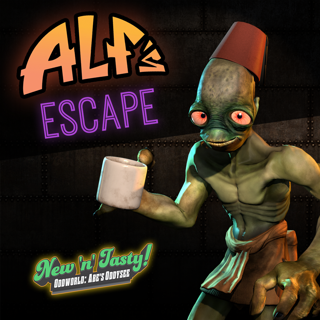 Oddworld: New 'n' Tasty Alf's Escape Mission