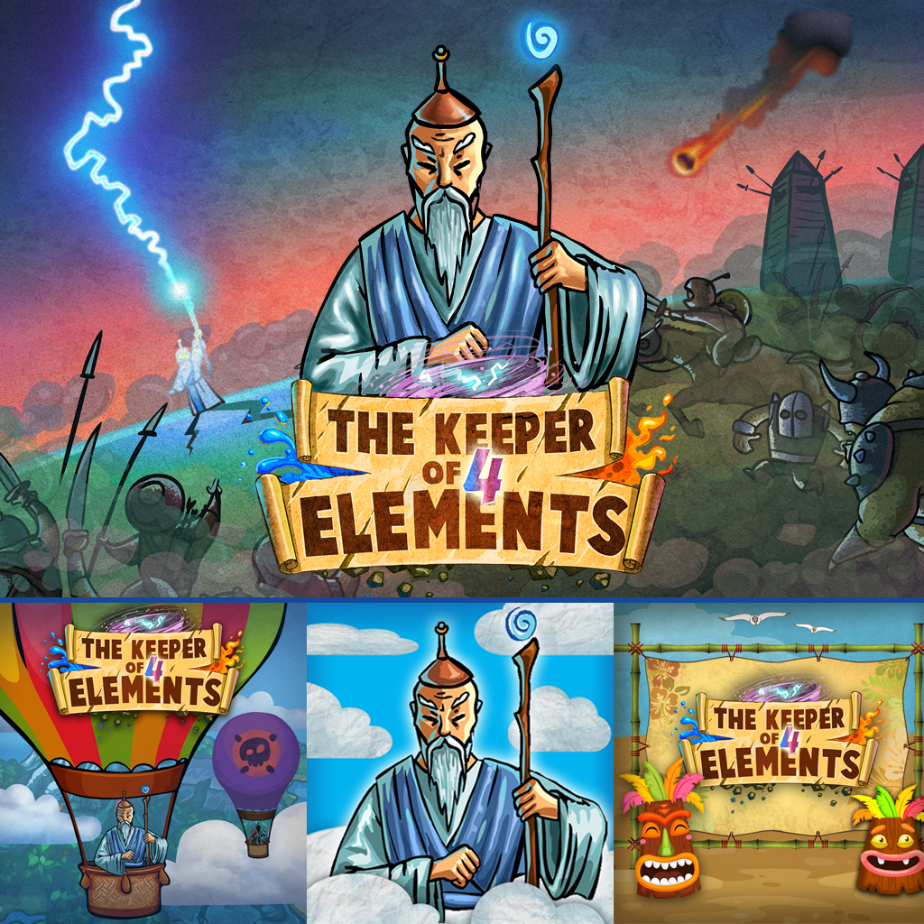 Keeper of 4 Elements & Themes