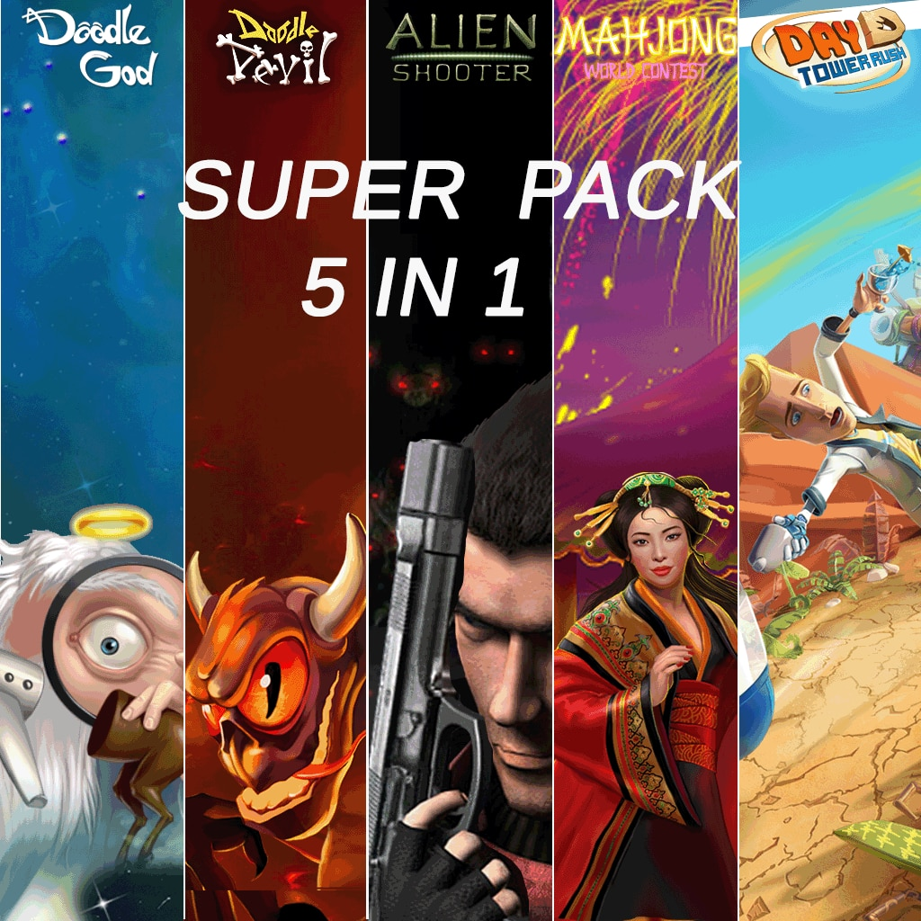 Super Pack 5 in 1 by 8Floor
