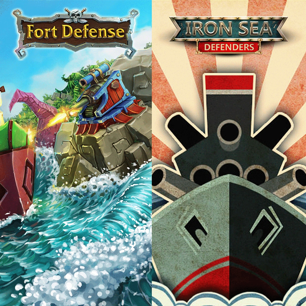 IRON SEA + FORT DEFENSE BUNDLE
