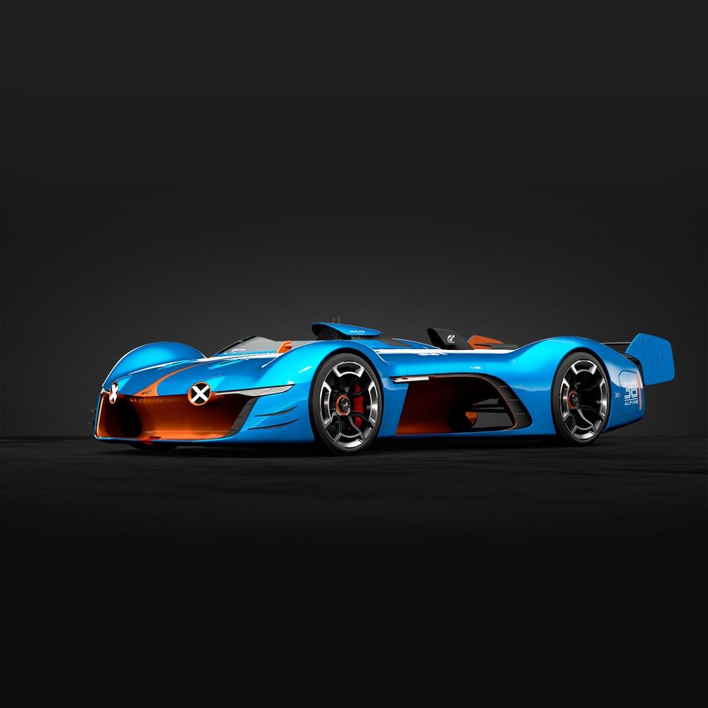 GT Sport - Alpine Vision Gran Turismo Race Mode