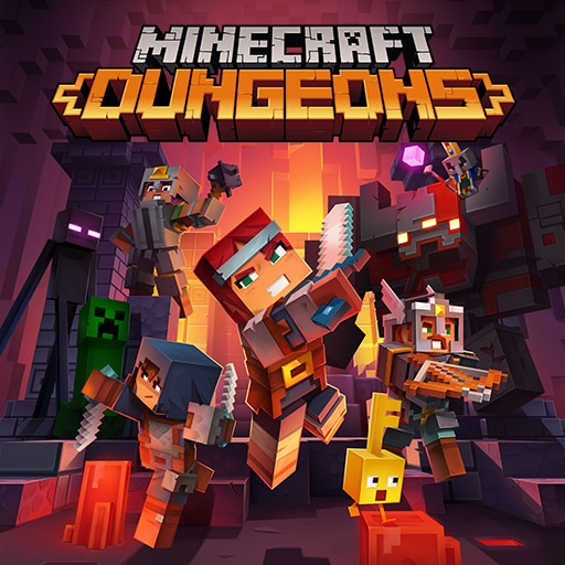 Minecraft Dungeons (Simplified Chinese, English, Korean, Japanese, Traditional Chinese)