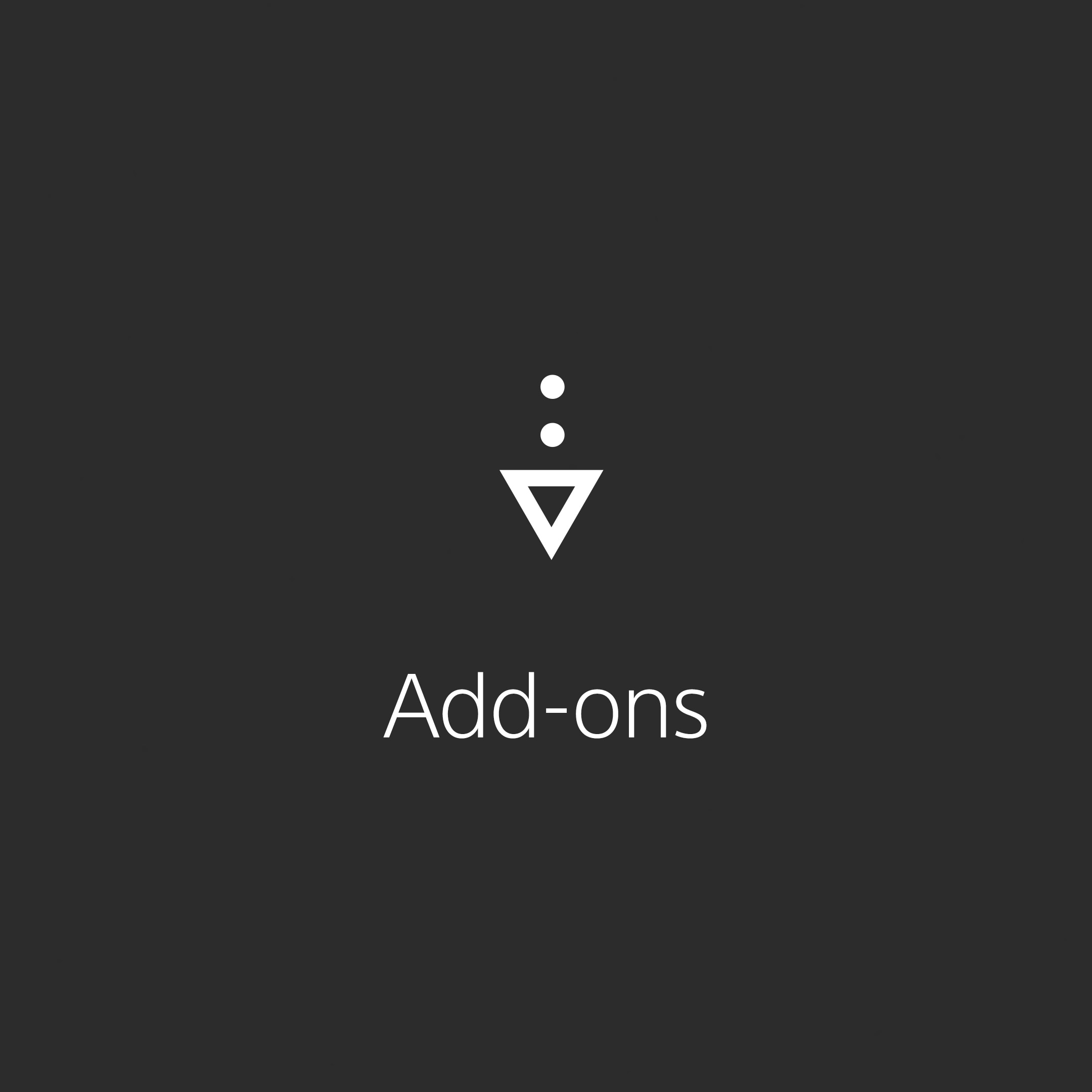 Add-ons - Quick Link