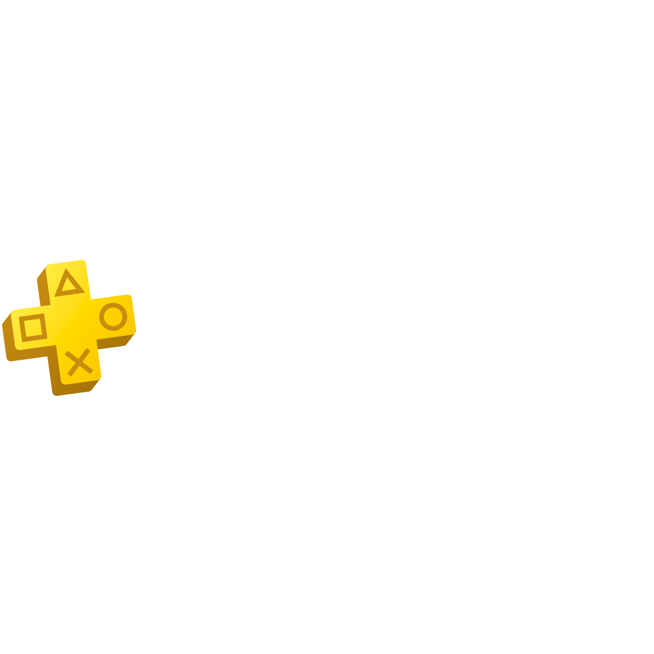 PS Plus - Hero Logo - BF - Plus 12M25%off