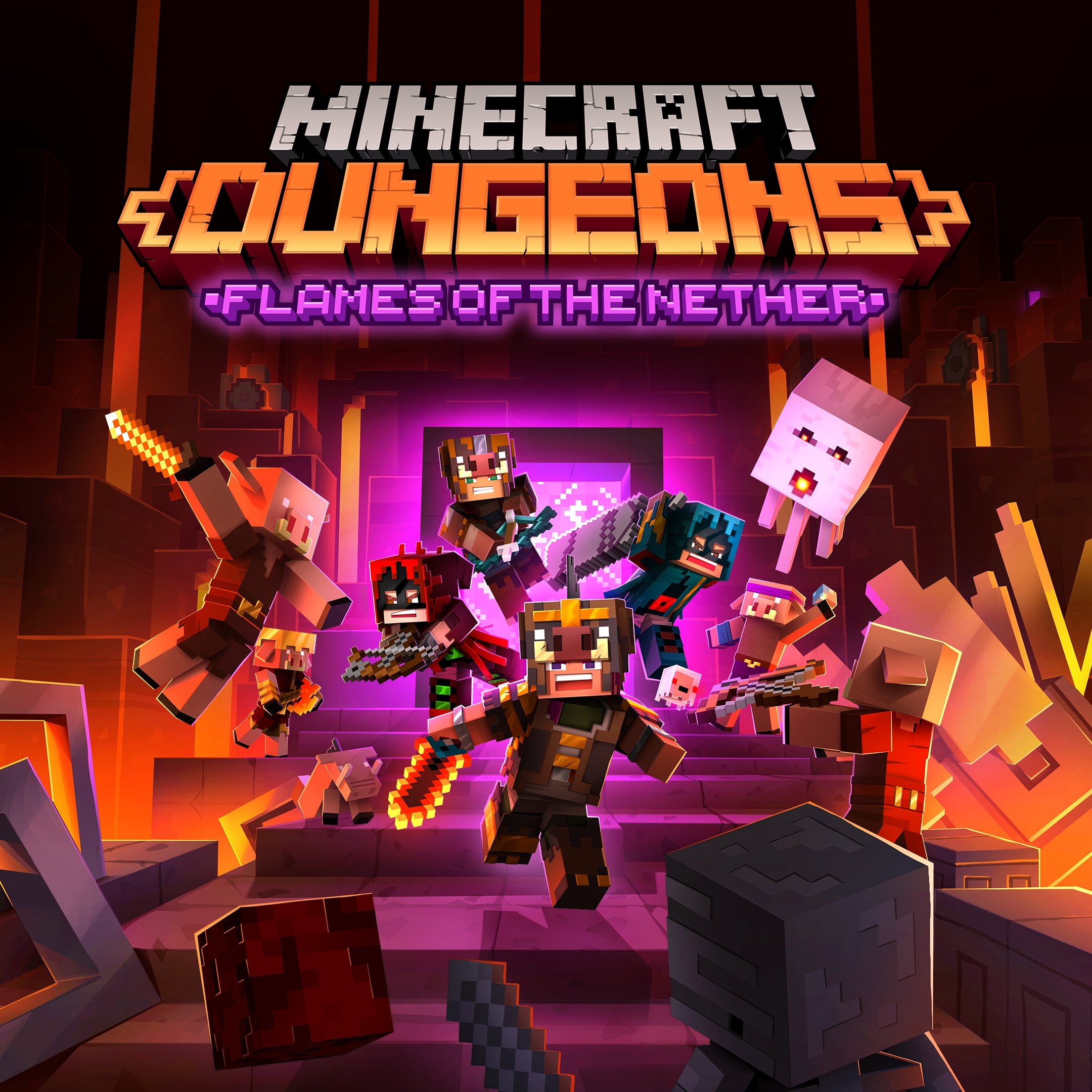 Minecraft Dungeons - Flames of the Nether