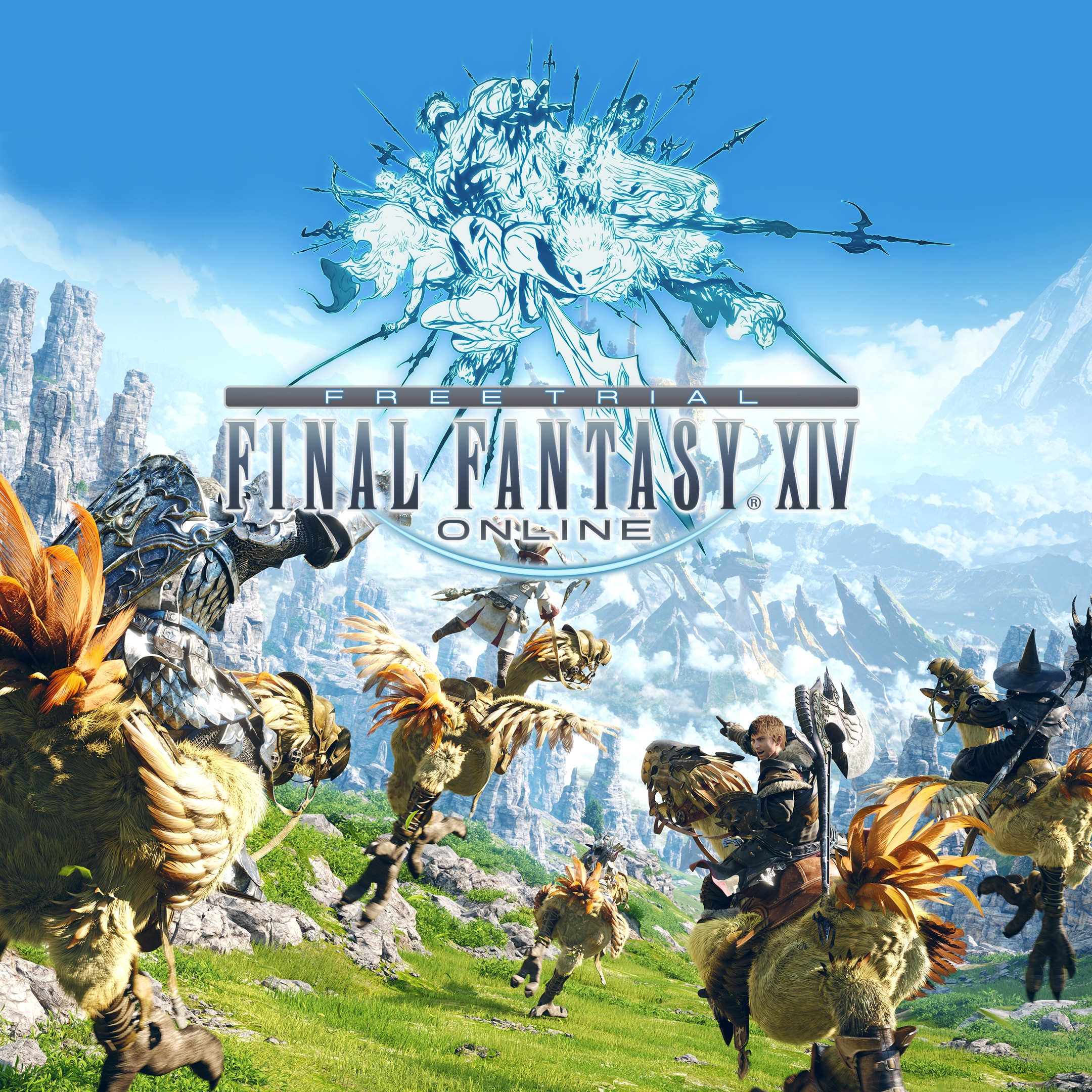 Final Fantasy XIV Online - PS5 Free Trial