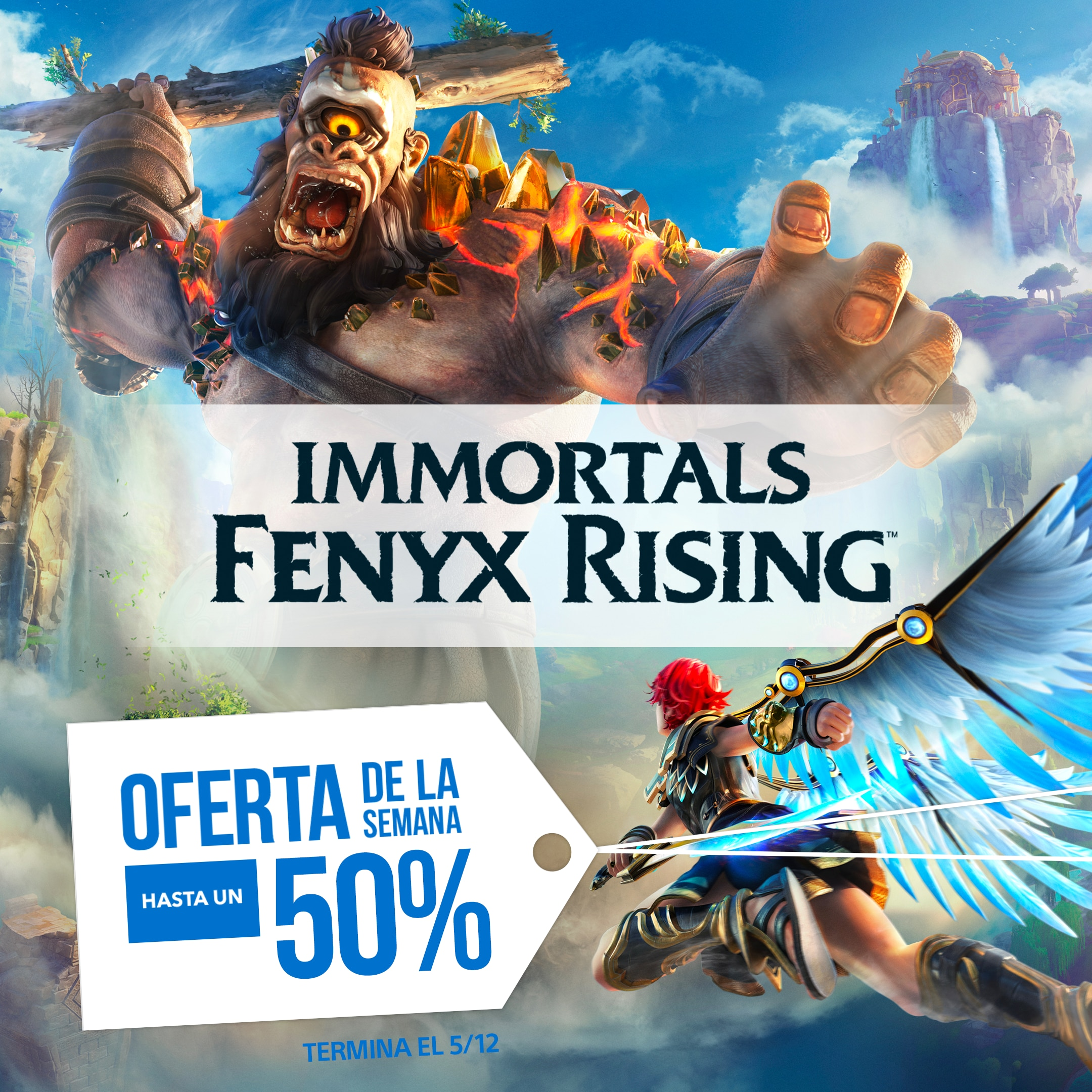 [PROMO] Deal Of The Week - Immortals Fenyx Rising