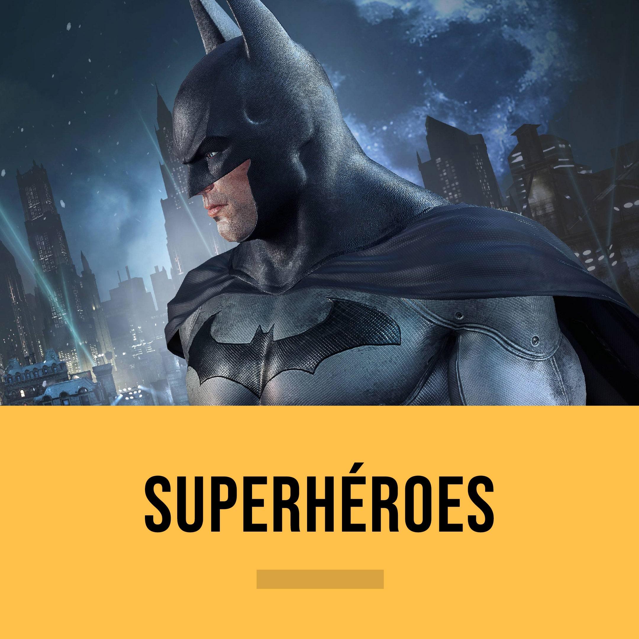[EDITORIAL] Superheroes Color Tab S26