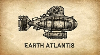 Earth Atlantis Trophy Set