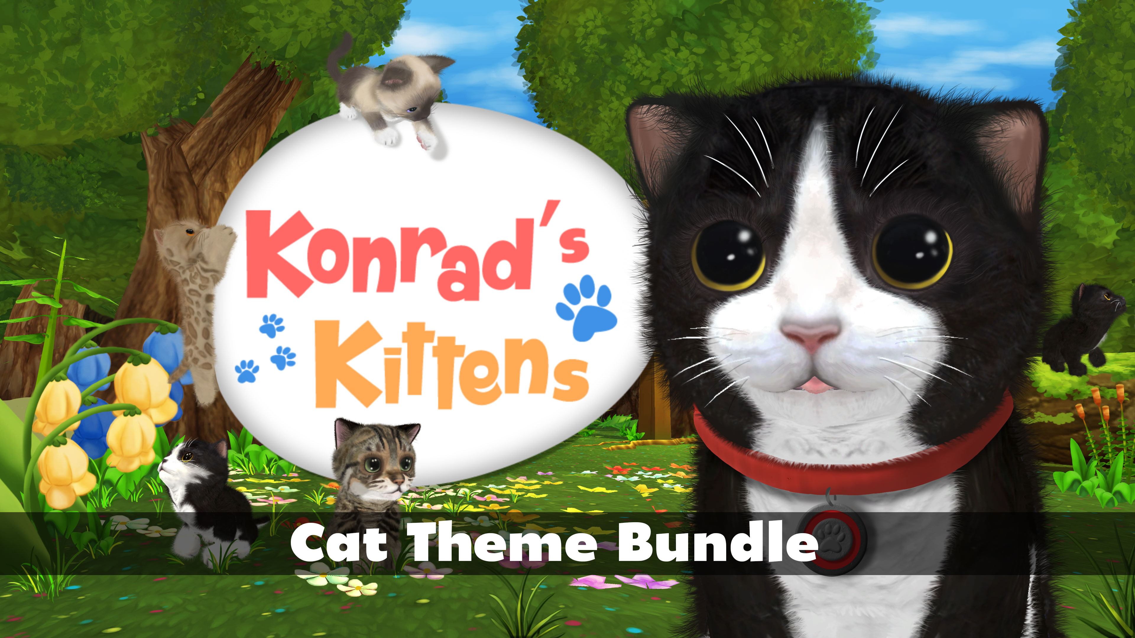 Konrad's Kittens - Cat Theme Bundle