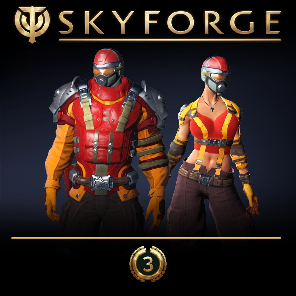 Skyforge: PlayStation®Plus حزمة Divine Defender