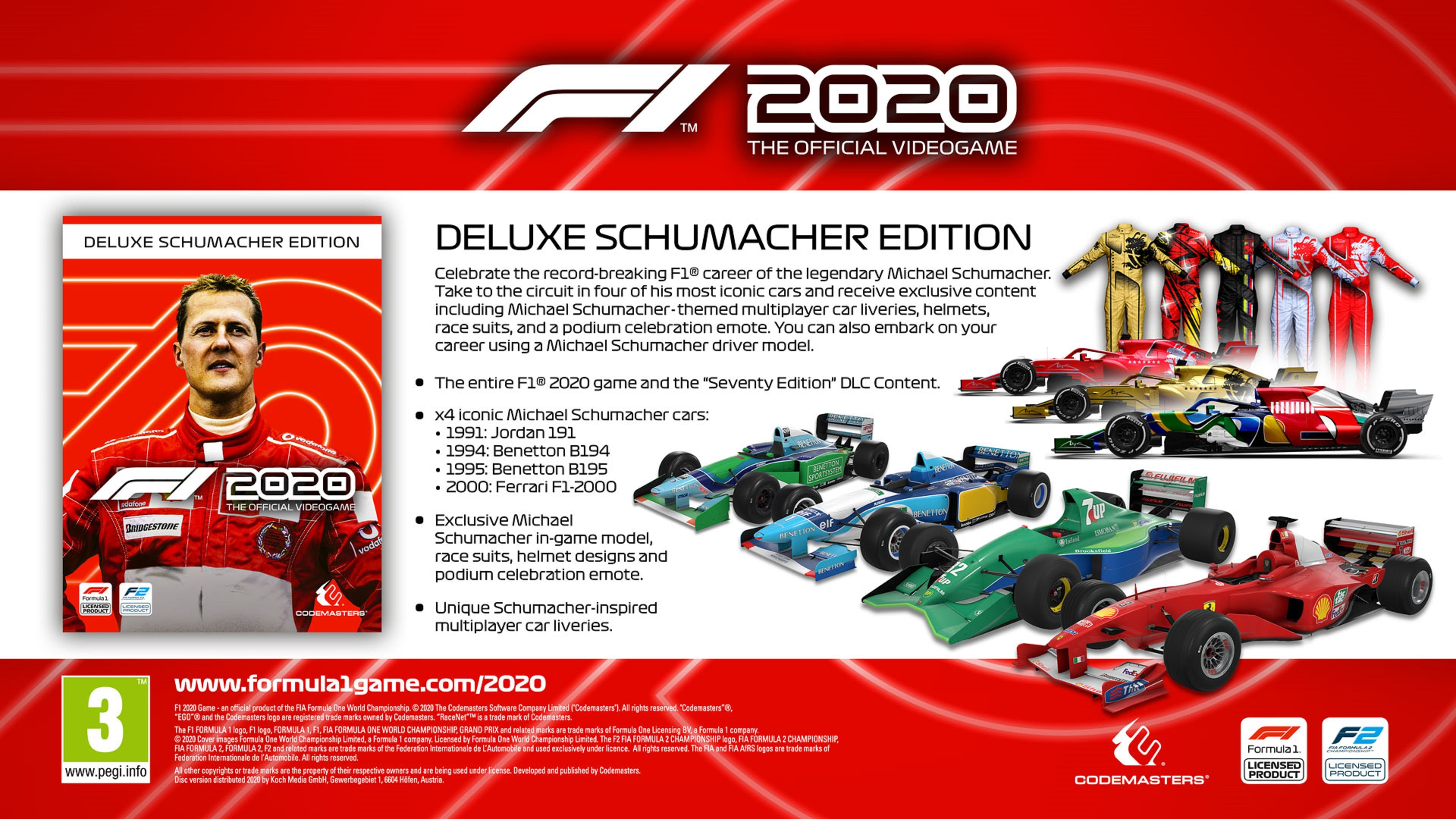 F1 2020 - Deluxe Edition