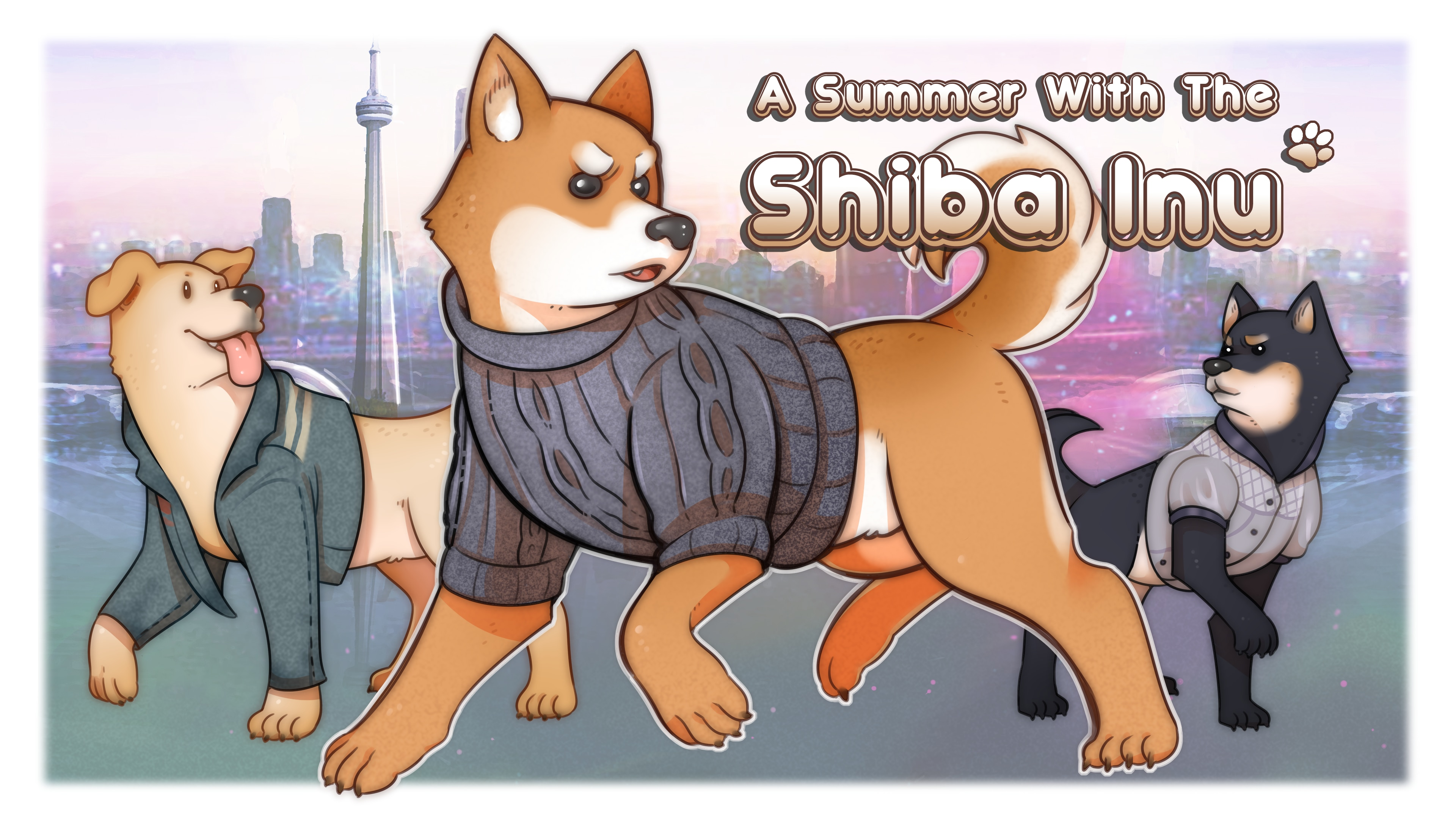 A Summer with the Shiba Inu (English Ver.)