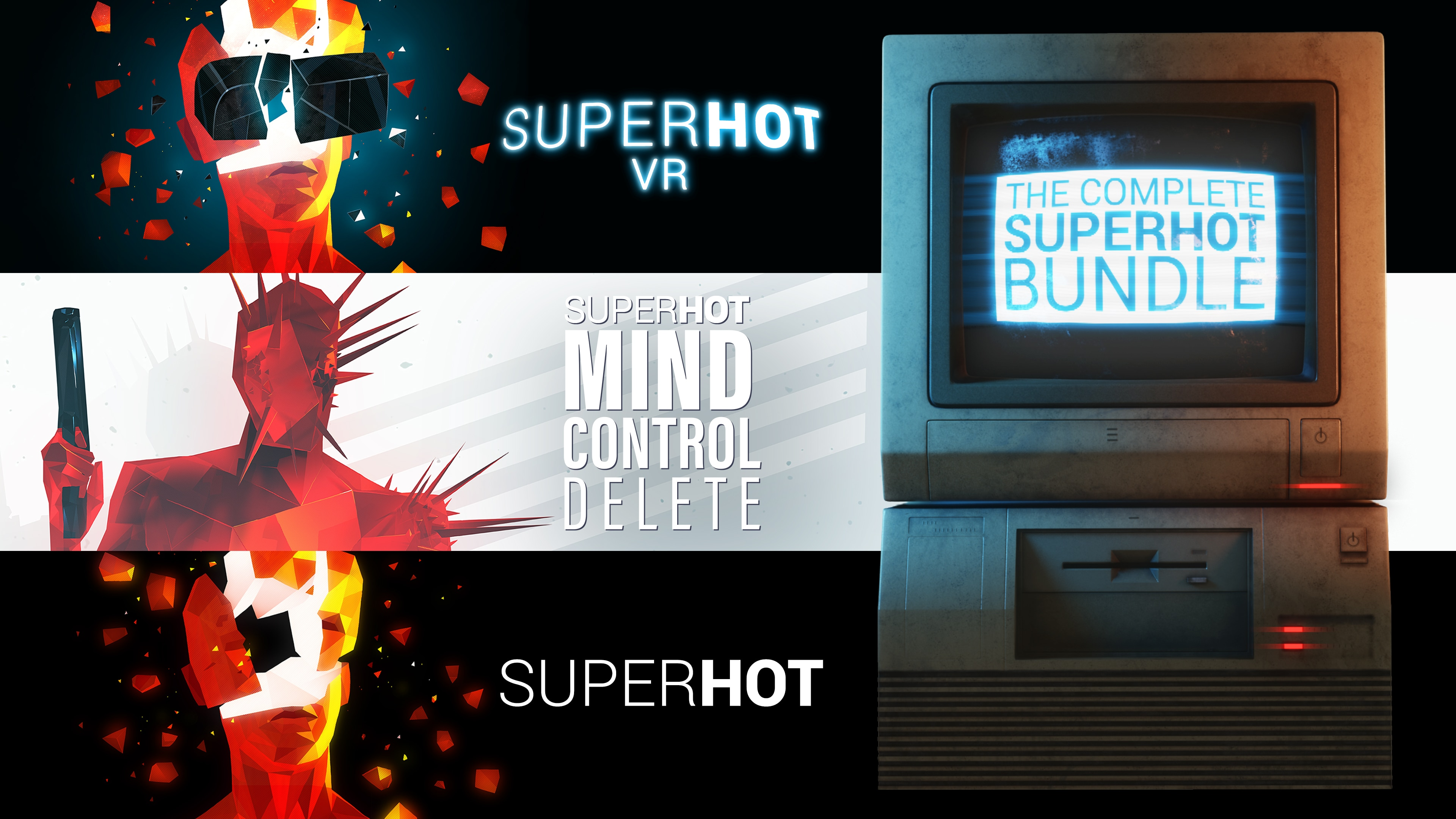 THE COMPLETE SUPERHOT BUNDLE
