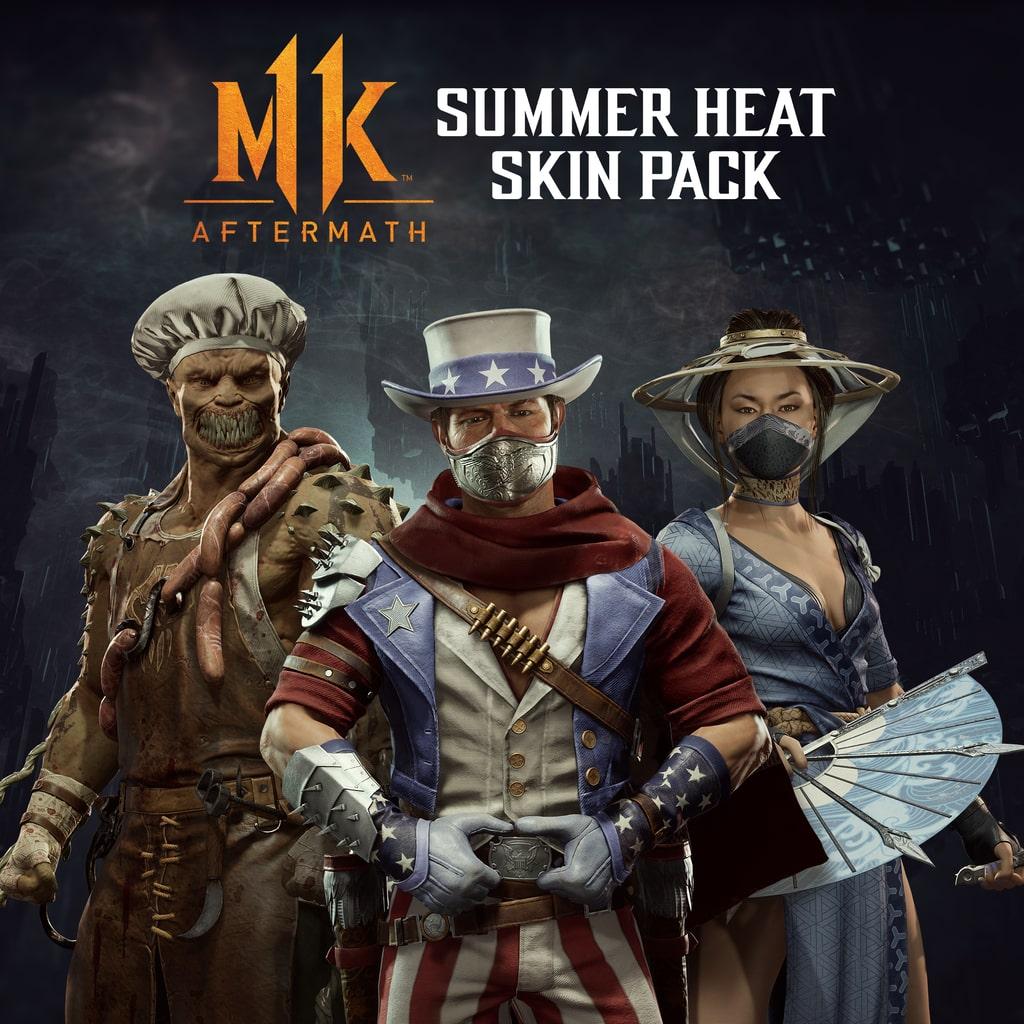 Sommerhitze Skin-Pack
