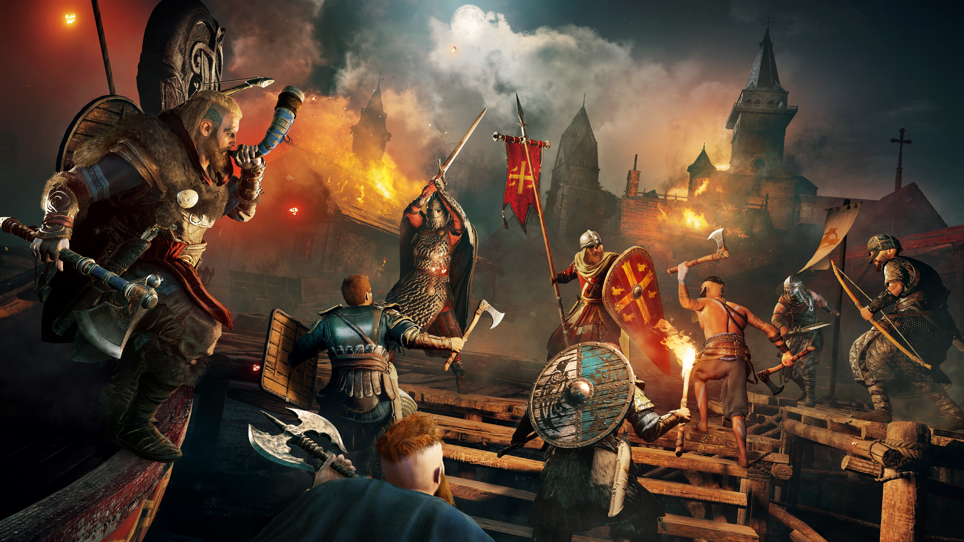 Assassin's Creed Valhalla - Digital Standard Edition PS4 & PS5 (English/Chinese/Korean/Japanese Ver.)