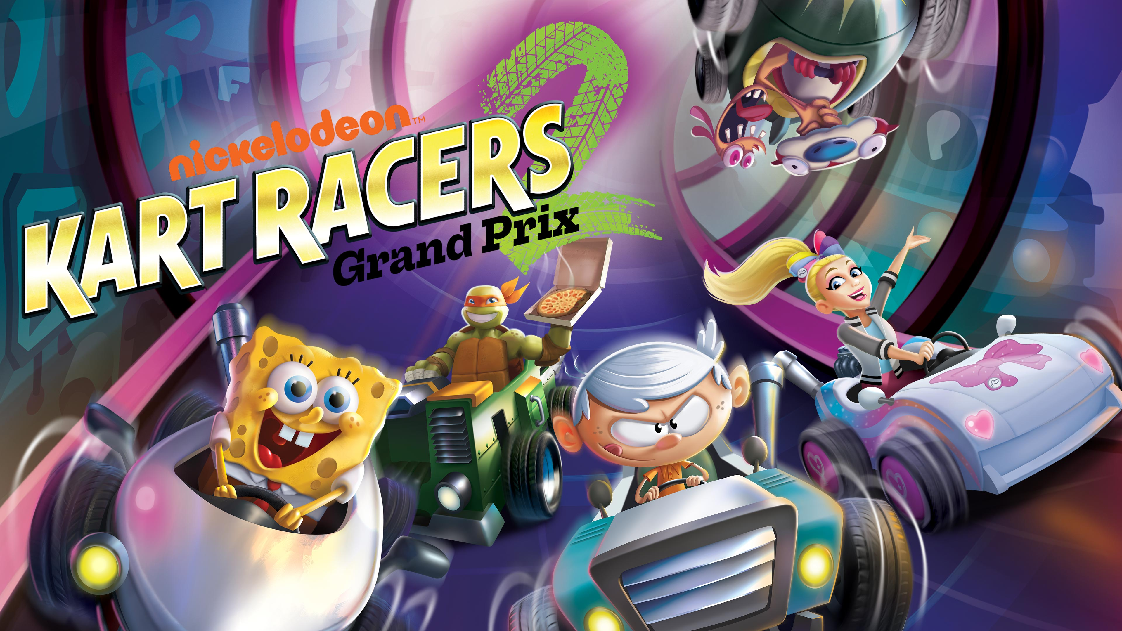 Nickelodeon Kart Racers 2: Grand Prix (Simplified Chinese, English, Thai, Japanese, Traditional Chinese)