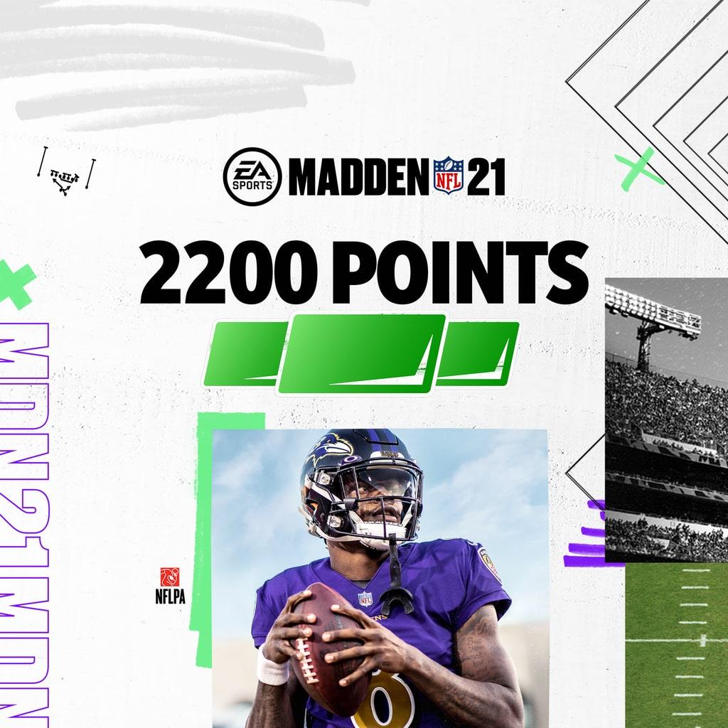 MADDEN NFL 21 – 2200 Madden Pointsia