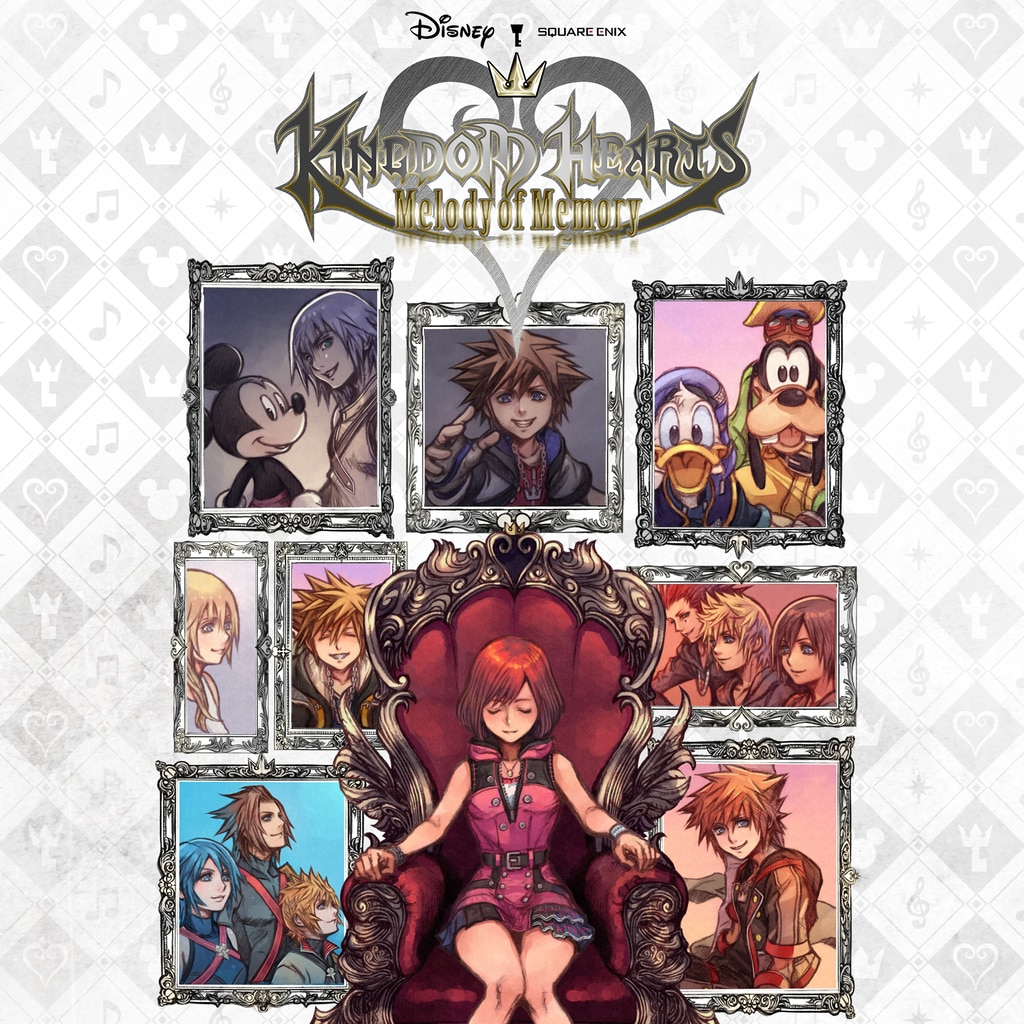 KINGDOM HEARTS Melody of Memory (英文)