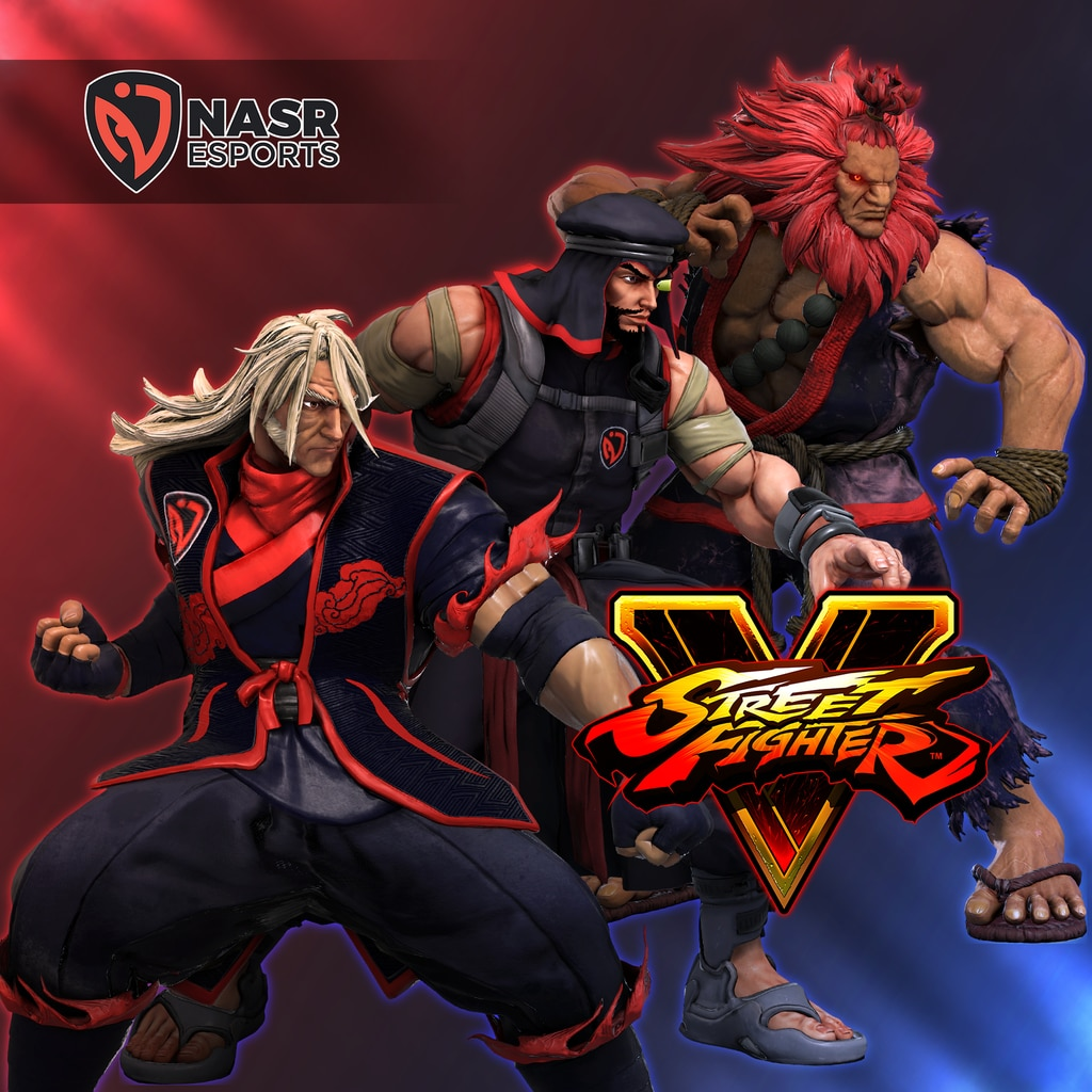 Street Fighter V - SFL2020 NASR Costumes Bundle