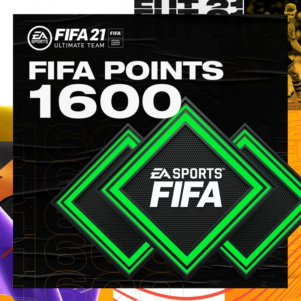 FUT 21 – FIFA Points 1600 (English/Chinese/Korean/Japanese Ver.)