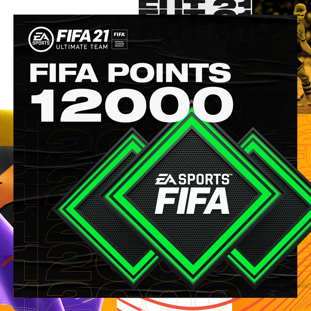 FUT 21 – FIFA Points 12000 (English/Chinese/Korean/Japanese Ver.)