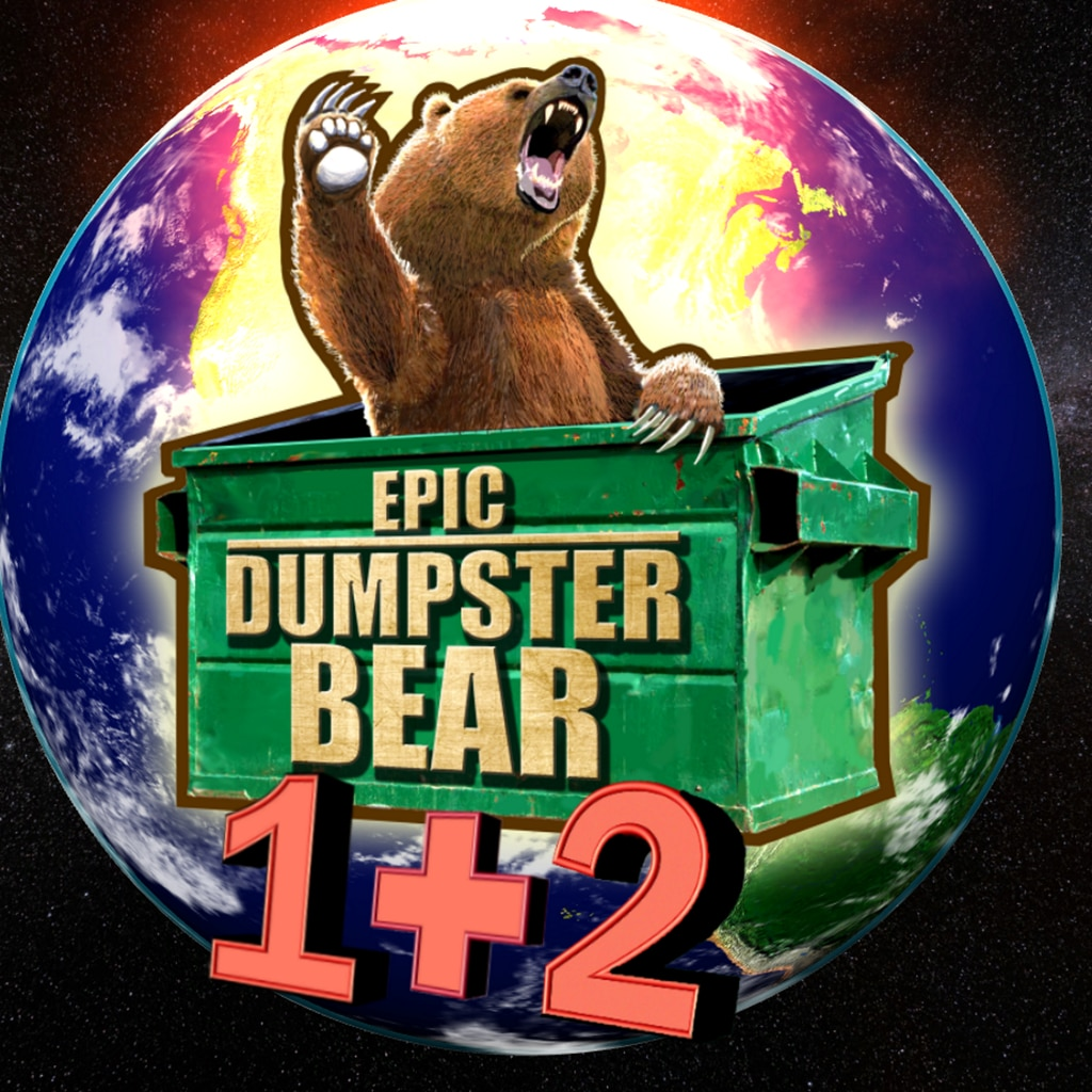 Epic Dumpster Bear 1+2: Dumpster Dive Bundle