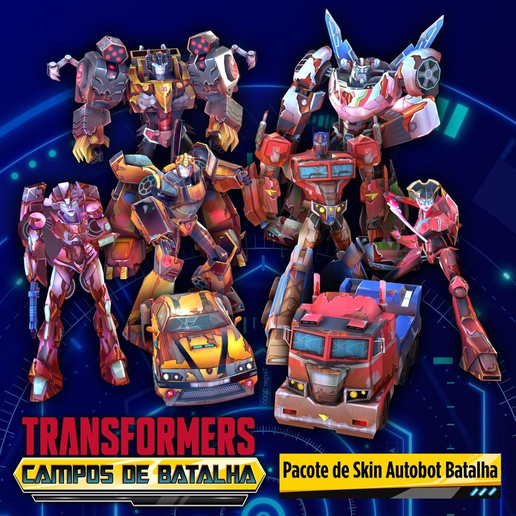 Pacote de Skin Autobot Batalha
