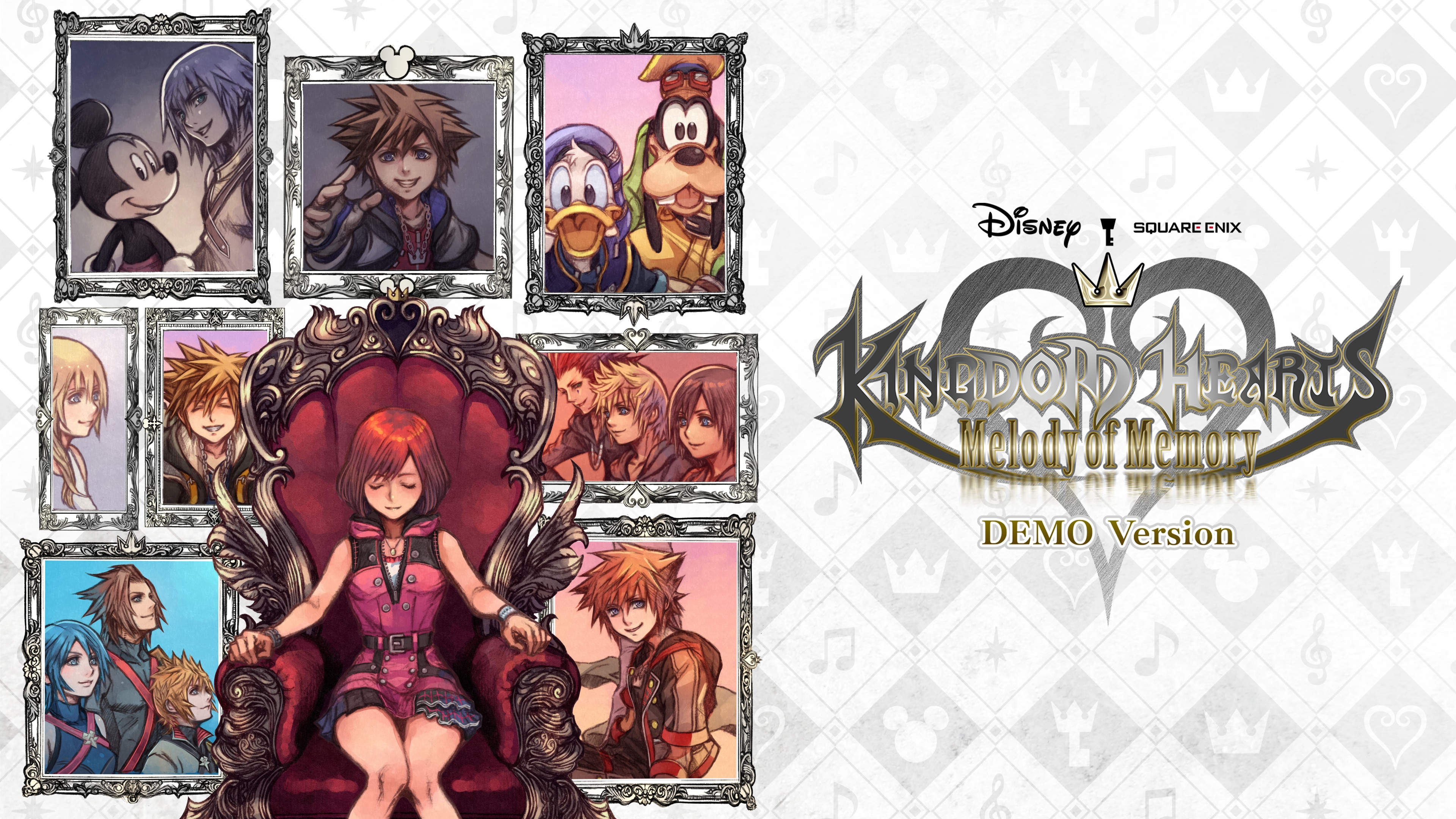 KINGDOM HEARTS Melody of Memory DEMO Version