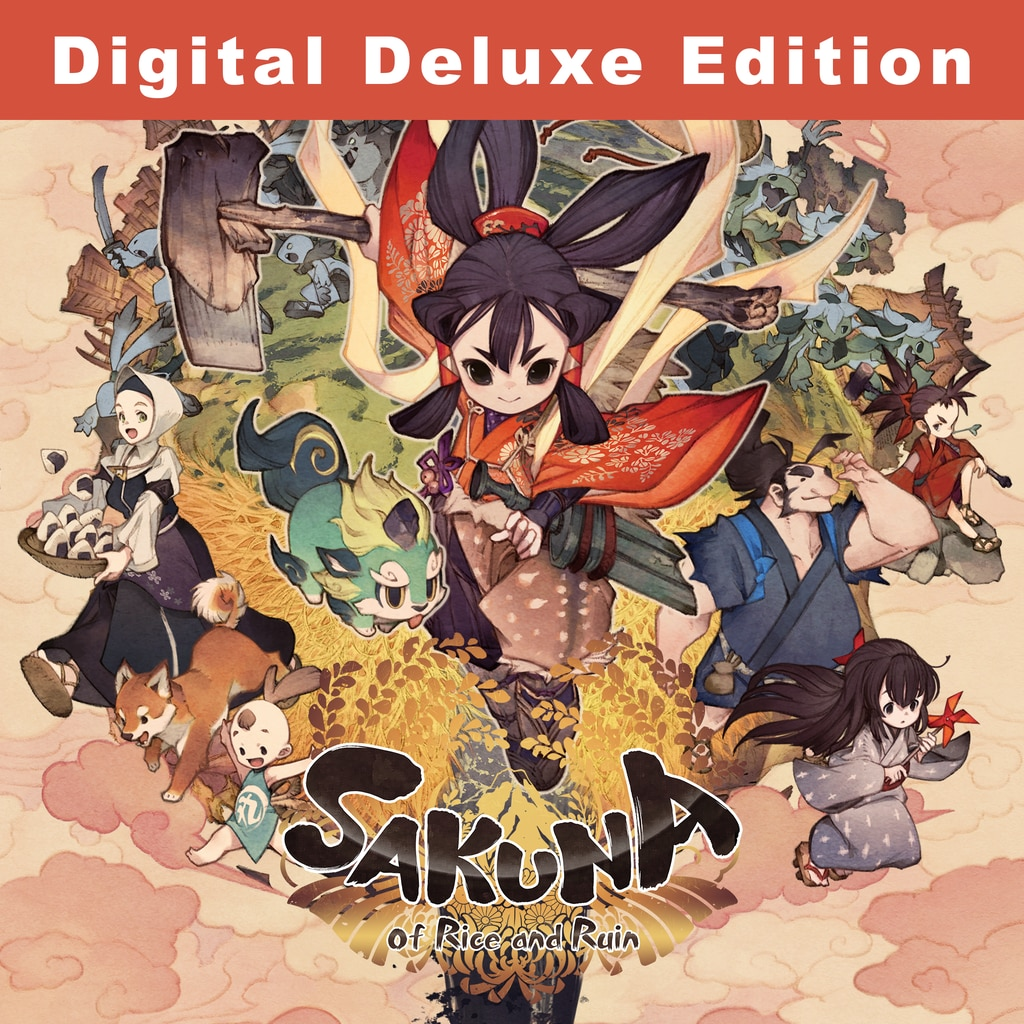Sakuna: Of Rice and Ruin - Digital Deluxe Edition