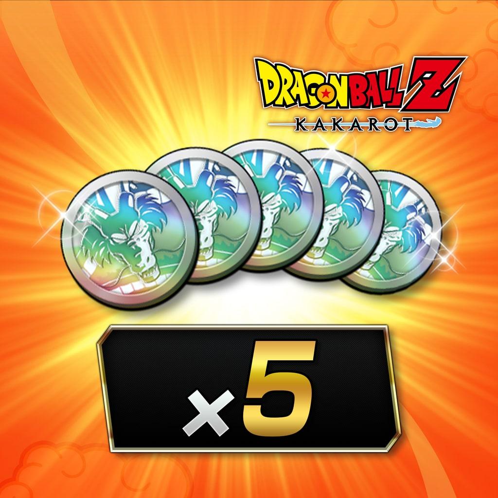 DRAGON BALL Z: KAKAROT - Platinum Coin (x5)