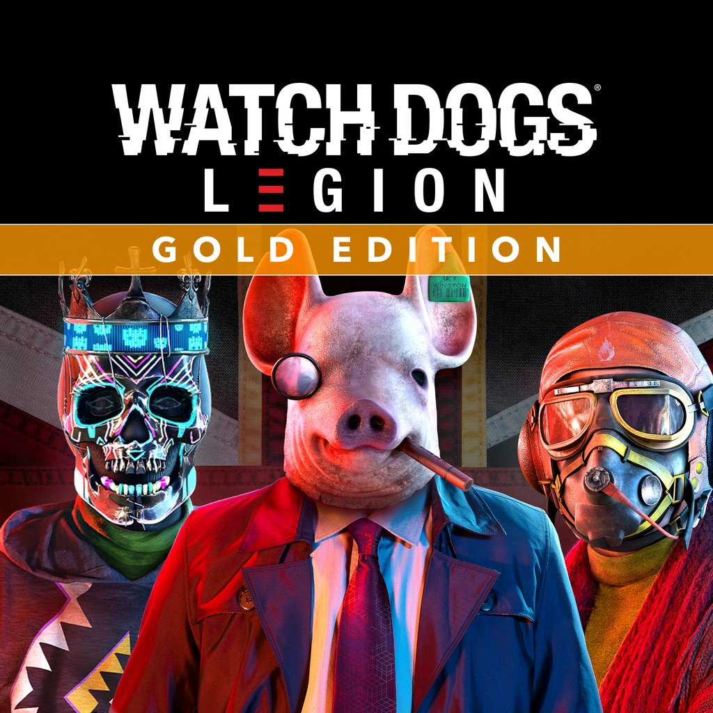 Watch Dogs: Legion - Gold Edition PS4 & PS5