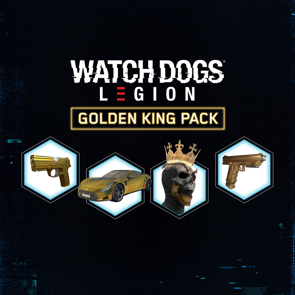 Watch Dogs®: Legion - Golden King Pack