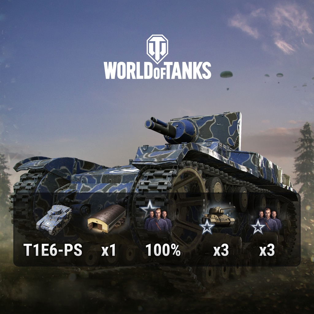 World of Tanks - PS+ Starter Pack (中日英韓文版)