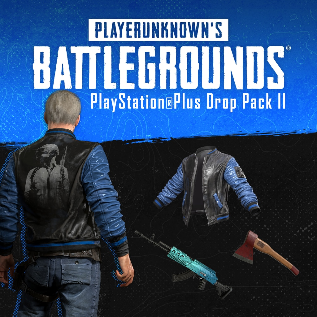 PUBG - PlayStation®Plus Drop Pack II (English/Chinese/Korean/Japanese Ver.)