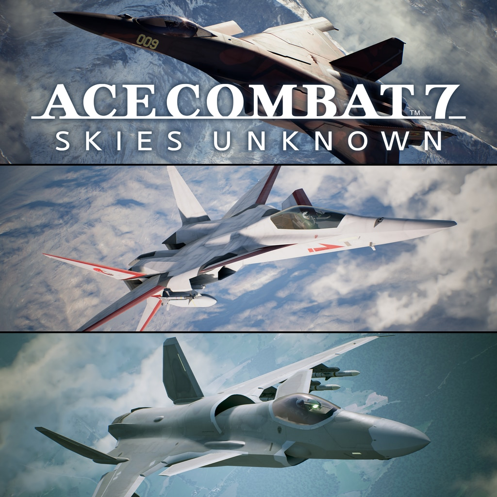 ACE COMBAT™ 7: SKIES UNKNOWN 25th Anniversary DLC - Original Aircraft Series – Set