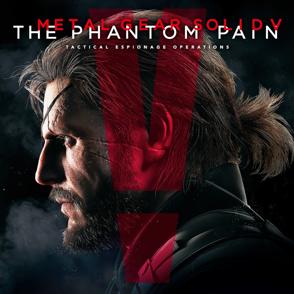 METAL GEAR SOLID V: THE PHANTOM PAIN (Japanese Ver.)