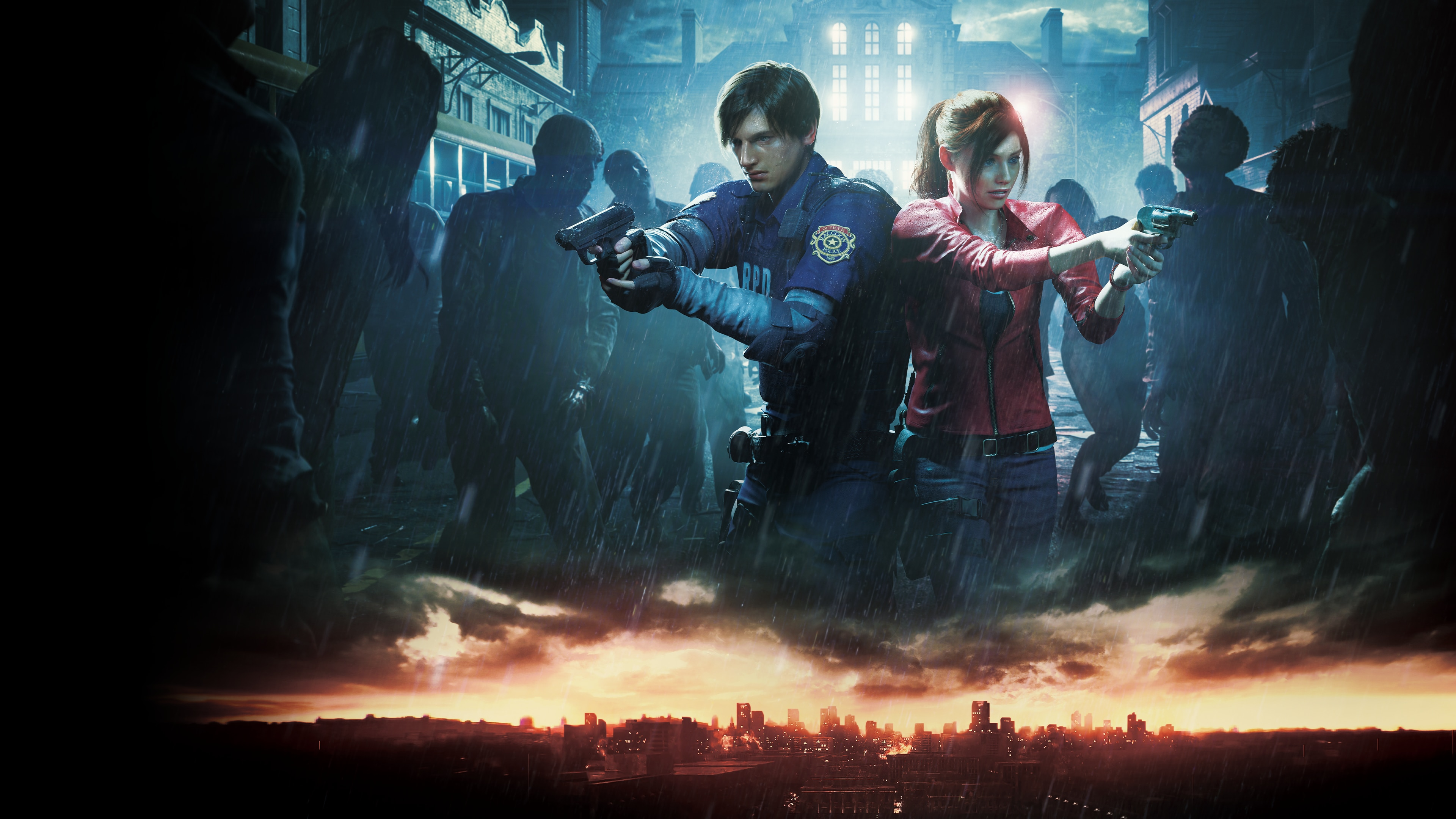 RESIDENT EVIL 2 (English/Chinese/Korean/Japanese Ver.)