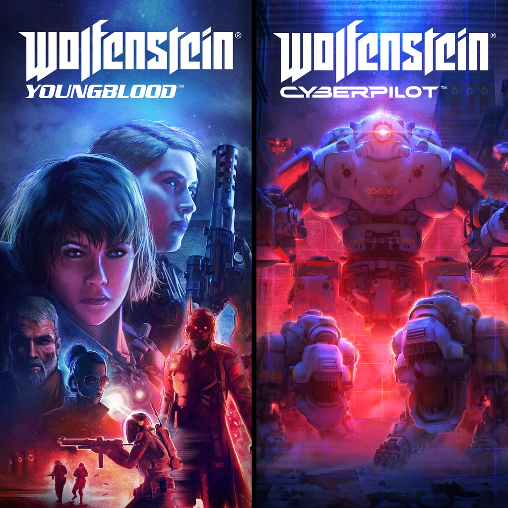 Wolfenstein: Resistance Bundle (English/Chinese/Korean Ver.)