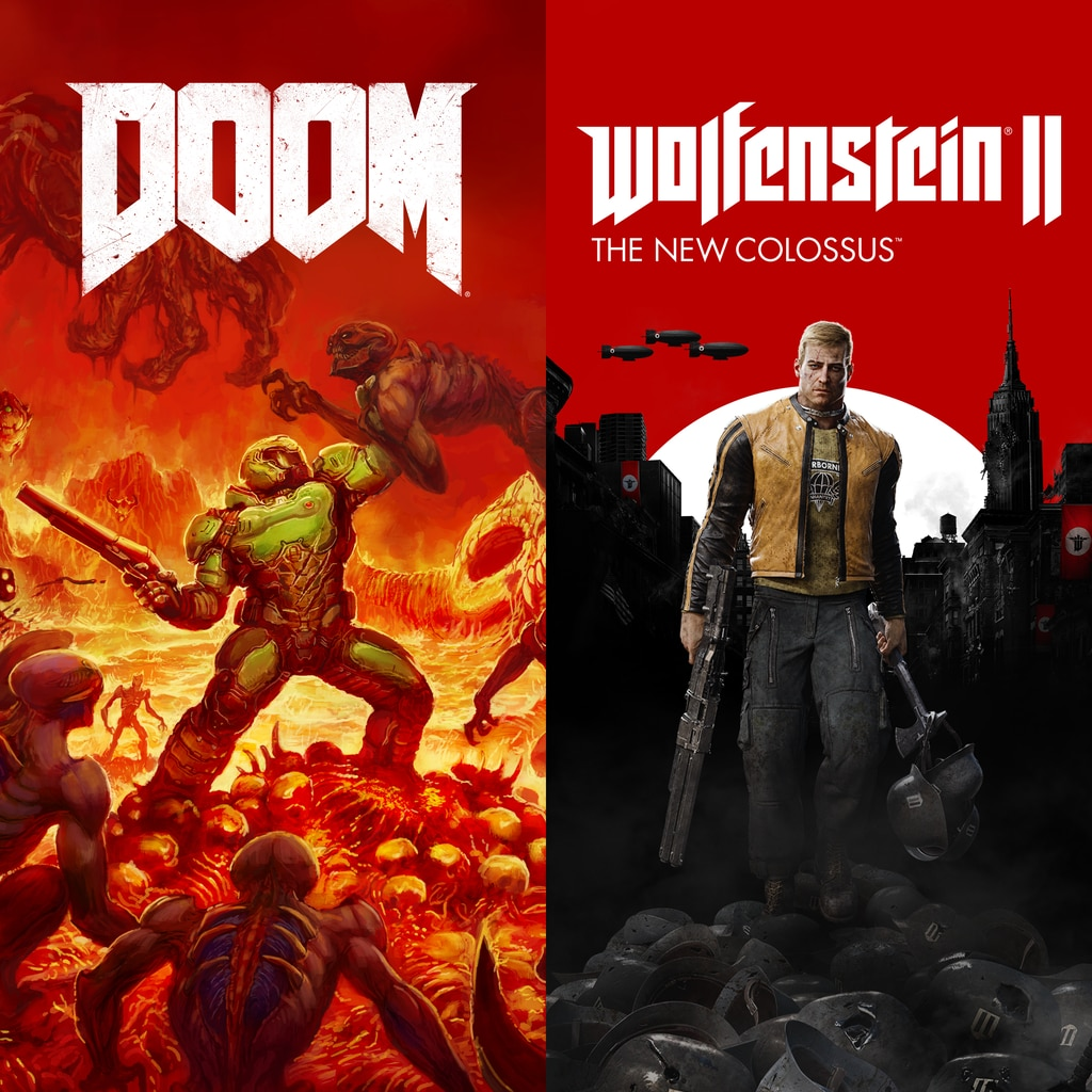 DOOM + Wolfenstein II Bundle (Internationale version)