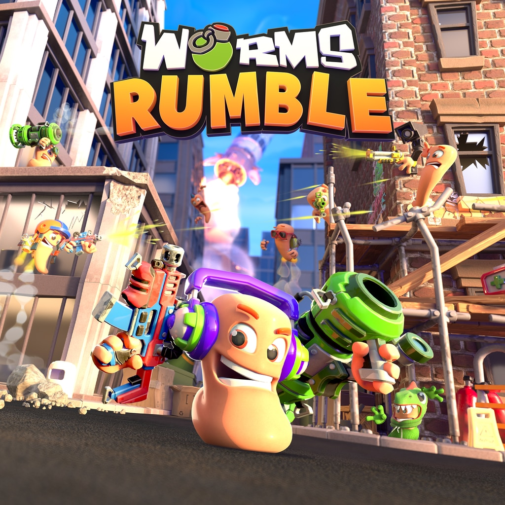 Worms Rumble PS4 & PS5 (Simplified Chinese, English, Korean, Japanese, Traditional Chinese)